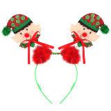 Head Bopper Elf With Fur Christmas Headband