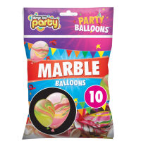 Marble Balloons 10 Pack