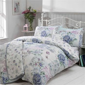 Oriental Blue Duvet Set