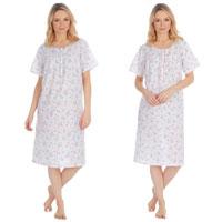 Ladies 4 Button Nightdress