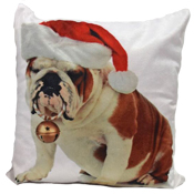 Bulldog Bouble Cushion Cover