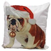 Bulldog Bouble Cushion Cover