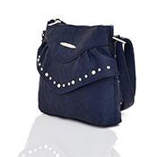 Sansa Studded Crossbody Bag Navy Blue