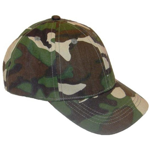 Childrens Camo Baseball Hat
