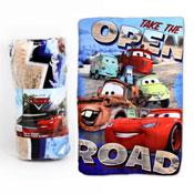 Boys Cars Fleece Blanket
