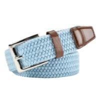Ladies Blue Stretchy Belt