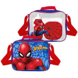 Official 3 Piece Spiderman Lunch Bag Set