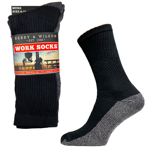 Mens Berry And Wilson Work Socks