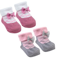 Baby Girl Socks Little Angel In Gift Bag