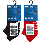 Boys Sport Trainer Socks With Sole Gripper