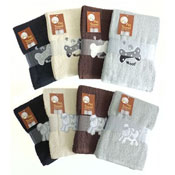 Bone/Paw Design Pet Towels