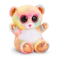 Animotsu Rose Gold Bear Cuddly Soft Toy