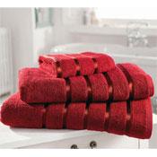 Egyptian Cotton Bath Sheet Red