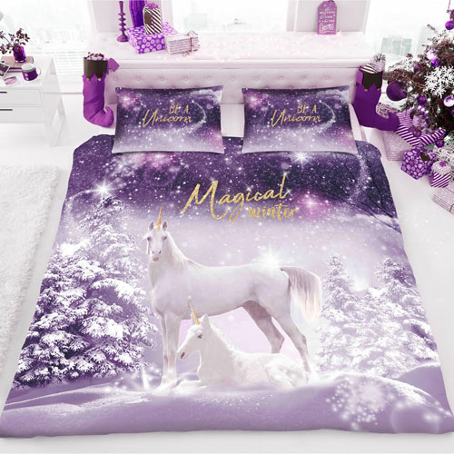 Be A Unicorn Christmas Duvet Set
