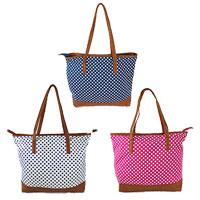 Erose Large Dotty Shopping Bag Spots