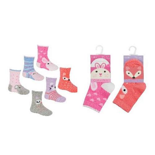 Baby Girls Novelty Animal Socks Assorted
