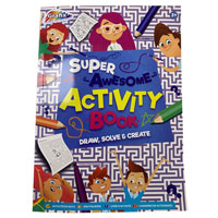 Activity Book 72 Sheets