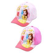 Official Childrens Disney Princess Trio Baseball Cap