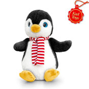 25cm Penguin With Scarf