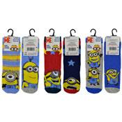 Boys Minions Character Socks