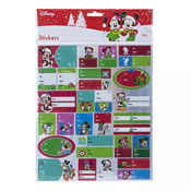 Christmas Disney Design Gift Tag Stickers
