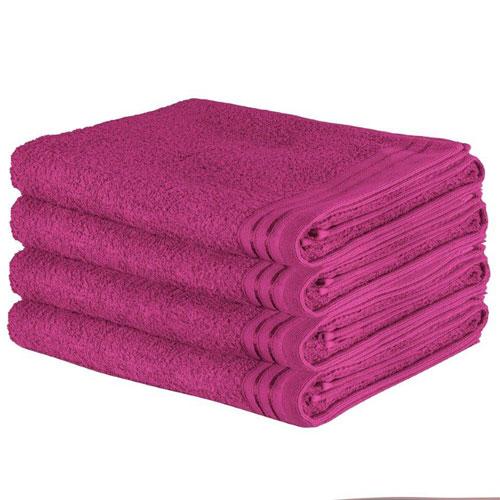 Luxury Wilsford Cotton Bath Sheet Pink