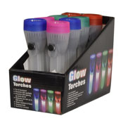 Plastic LED Glow Torches
