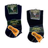 Extra Wide Stripe Diabetic Mens Socks