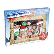 Christmas Photo Booth Picture Frame With Selfie Props