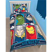 Avengers Tech Single Duvet Set
