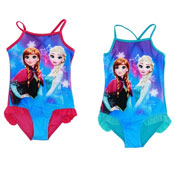 Girls Disney Frozen Swimsuit