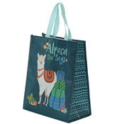 Reusable Alpaca Shopping Bags