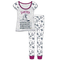 Ladies Official Harry Potter Sorted Pyjamas