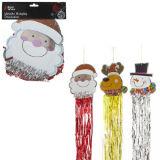 Metallic Hanging Christmas Decoration