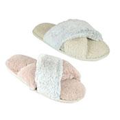 Ladies Luxury Two Tone Slippers