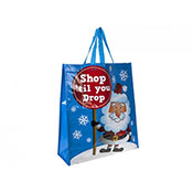 Christmas Santa Shopping Bag