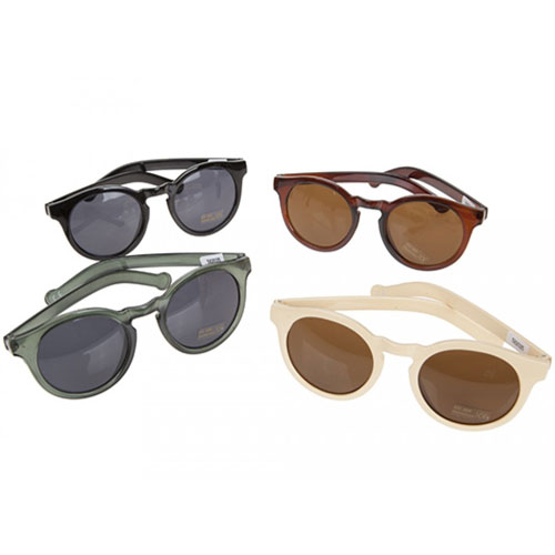 Ladies Fashion Round Sunglasses