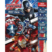 Captain America Civil War Busy Pack