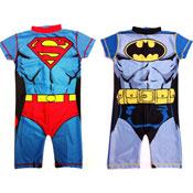 Boys DC Comic Character Swim Suit