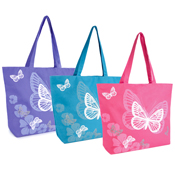 Butterfly Print Beach/Swim Bag