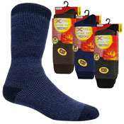 Mens Extreme Thermal Socks Plain 2.45 TOG