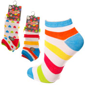 Ladies Fashion Sports Trainer Socks