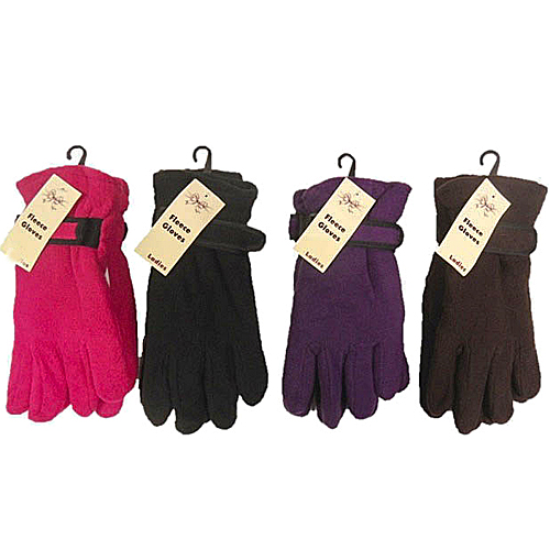 Ladies Fleece Gloves