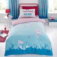 Mermaid World Rotary Duvet Set