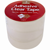 Clear Adhesive Tape 3Rolls