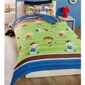 Childrens Fun Filled Bedding - Football Friends
