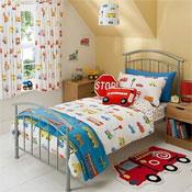 Transport Toddler Bed Duvet Set