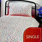 Star Single Bed Duvet Set