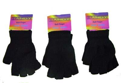 Fingerless Magic Gloves Black