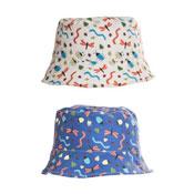 Boys Mini Beasts Print Bush Hat